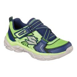Boys' Skechers Rive Start Up Training Shoe Lime/Navy