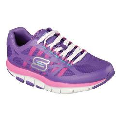 Women's Skechers Shape-ups 2.0 Liv Bottom Line Walking Shoe Purple/Pink