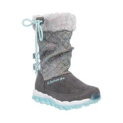 Girls' Skechers Skech-Air Quilty Cuties Boot Gray/Multi
