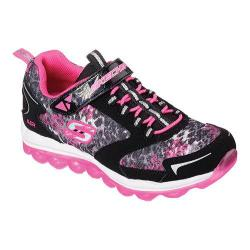 Girls' Skechers Skech-Air Vivid Vibe Training Shoe Black/Neon Pink