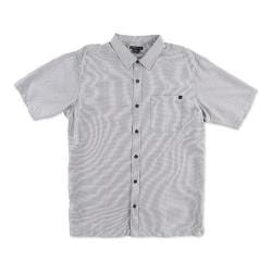 Men's O'Neill East Cape Button-Down Shirt Light Grey