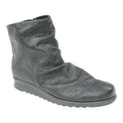 Women's The Flexx Pan Fried Ankle Bootie Black Leather