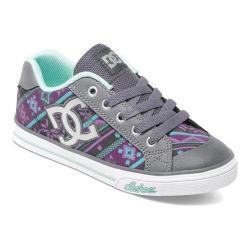 Girls' DC Shoes Chelsea Graffik Armor/Purple