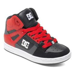 Boys' DC Shoes Rebound Dark Shadow/True Red