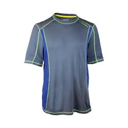 Men's Diadora Camero Short Sleeve Top Charcoal/Blue