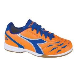 Children's Diadora Capitano ID JR Orange/Blue