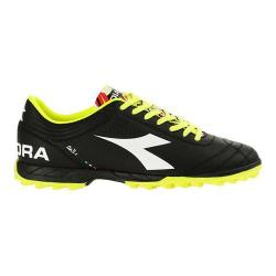 Men's Diadora Italica 3 R TF Soccer Cleat Black/White