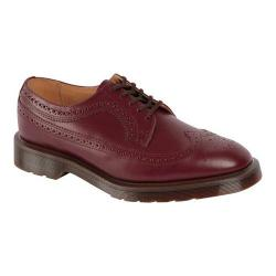 Men's Dr. Martens 3989 Brogue Shoe Oxblood Vintage Smooth