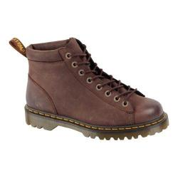 Men's Dr. Martens Arne 8-Tie Boot Dark Brown Burnished Wyoming