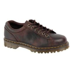 Men's Dr. Martens Bold 6-Tie Shoe Dark Brown Burnished Wyoming