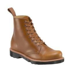 Men's Dr. Martens Charlton 8-Eye Toe Cap Boot Oak Analine