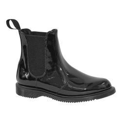 Women's Dr. Martens Faun Chelsea Boot Black Patent Lamper