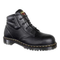 Men's Dr. Martens Icon 4 Eye Boot Black Industrial Bear/Suede