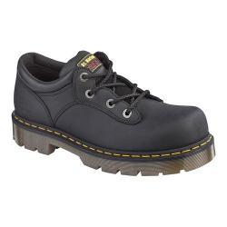 Dr. Martens Naseby ST 4 Tie Shoe Black Industrial Greasy