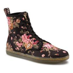 Women's Dr. Martens Shoreditch Black Victorian Flowers