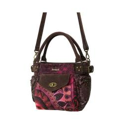 Women's Desigual Mini Mcbee Andromeda Shoulder Bag Ruby Wine