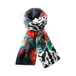 Women's Desigual Twill Ulus Scarf Purple Potion