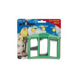 Activitoy Bird Toy Fun House Mirror