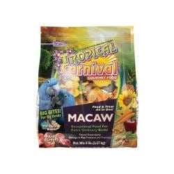 Tropical Carnival Gour Macaw Big Bites 5lb 6pc