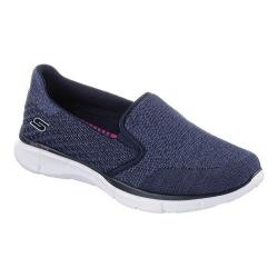 Women's Skechers Equalizer Walking Shoe Say Something/Navy