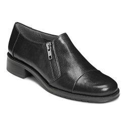 Women's A2 by Aerosoles Fast Ride Black Faux Leather