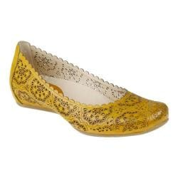 Women's Earthies Bindi Golden Oak Full Grain Leather