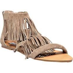 Women's Steve Madden Favorit Sandal Taupe Suede