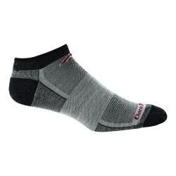 Men's Darn Tough Vermont No Show Mesh 1437 (2 Pairs) Charcoal
