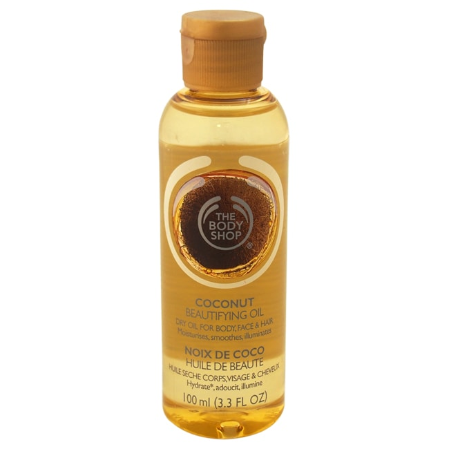 The Body Shop Coconut Beautifying Oil For Body, Face & Hair