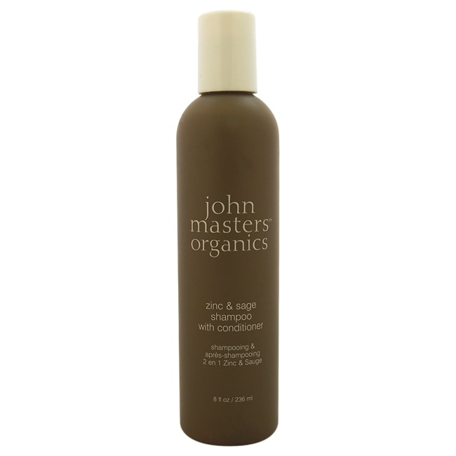 John Masters Organics Zinc & Sage 8-ounce Shampoo with Conditioner