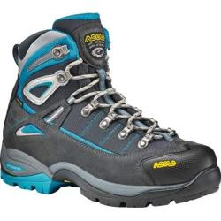 Women's Asolo Futura GORE-TEX Hiking Boot Graphite/Blue Peacock