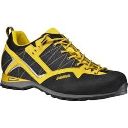 Men's Asolo Magix Hiking Shoe Black/Yellow Microtech
