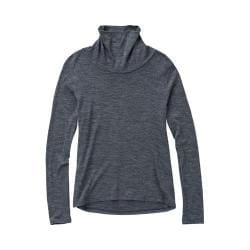 Women's Ibex Seventeen.5 Funnel Neck Pewter Heather