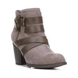 Women's Fergalicious Tanner Ankle Boot Grey Faux Suede