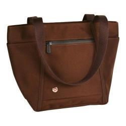 Token Brighton Tote Dark Brown