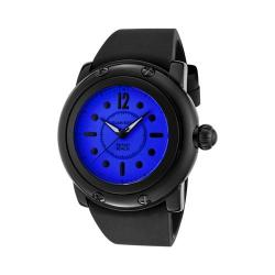 Women's Glam Rock GR25045 Black Silicone/Dark Blue