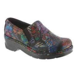Women's Klogs Naples Clog Butterfly Mosaic Leather