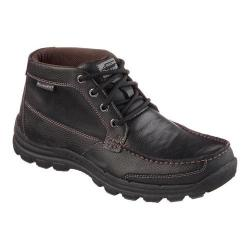 Men's Skechers Relaxed Fit Braver Fabio Lace Up Boot Black