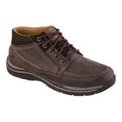 Men's Skechers Relaxed Fit Expected Cason High Top Chocolate