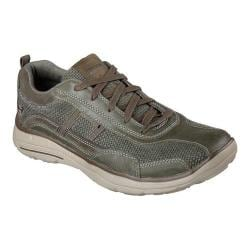 Men's Skechers Relaxed Fit Glides Status Sneaker Olive