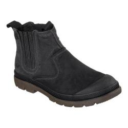 Men's Skechers Relaxed Fit Milton Terson Pull On Boot Black