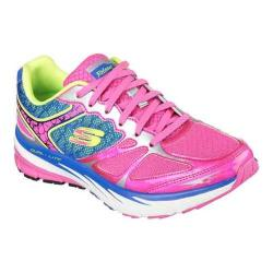 Women's Skechers Relaxed Fit Optimus Training Shoe Hot Pink/Blue