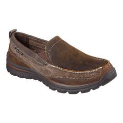 Men's Skechers Relaxed Fit Superior Dimos Loafer Dark Brown