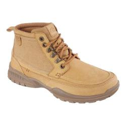 Men's Skechers Relaxed Fit Vorlez Mateus Lace Up Boot Wheat