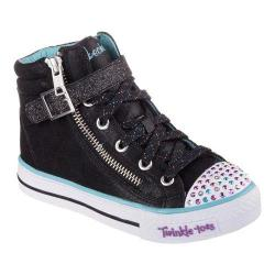 Girls' Skechers Twinkle Toes Shuffles Heart N Sole Black/Multi