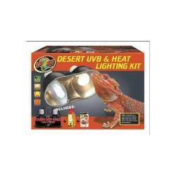 Desert Uvb & Heat Lighting Kit