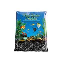 Pw Pebble Color Jet Black 5lb 6pk