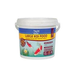 Api Pond Fish Food Large Koi 4mm Pellet 35oz