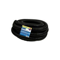"1"" Id Black Corrugated Tubing X 20ft"