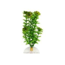"""Aquaflora Plastic Plant 6"""" Green Ambulia"""